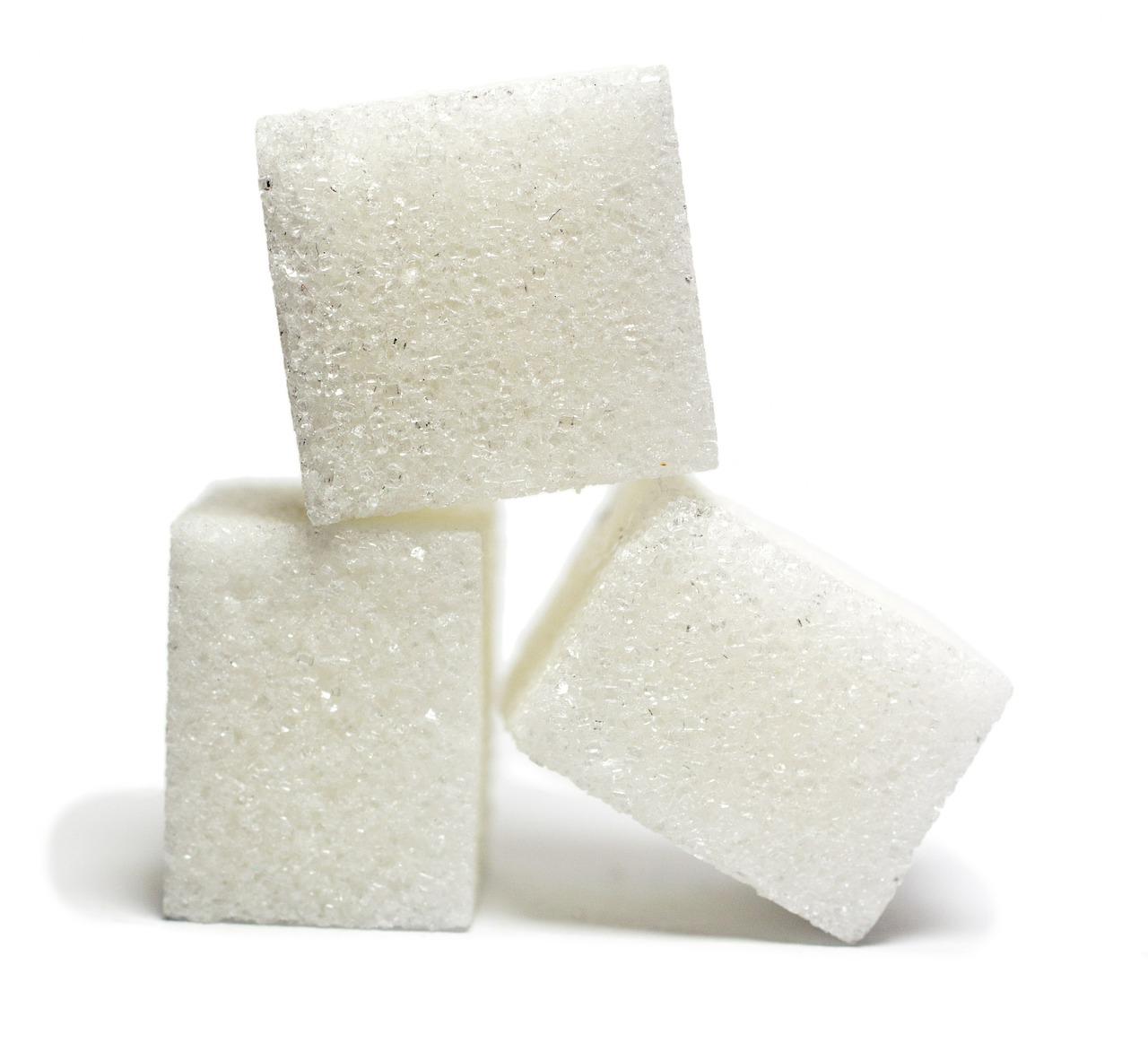 azúcar cubos
